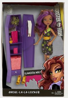 Clawdeen Wolf Ghoul-La-La-Locker Monster High Doll and Playset (Coming in 2016)