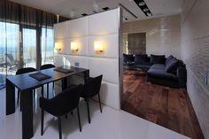 Дизайн интерьера пентхауса в Москве от Geometrix Design