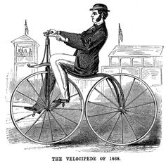 1800s Bicycle   The Bicycles of the 1800's