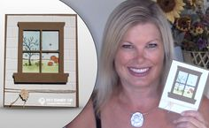 VIDEO: All Scenes Fall Window Card   Stampin Up Demonstrator - Tami White - Stamp With Tami Crafting and Card-Making Stampin Up blog