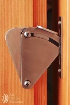 Real Sliding Hardware - Teardrop Privacy Lock for Sliding Doors, $48.00 (http://www.realslidinghardware.com/teardrop-privacy-lock-for-sliding-doors/)
