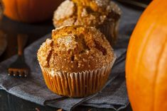 Guilt Free Paleo Pumpkin Muffins in the Air Fryer Celebrate autumn with these delicious, guilt free Paleo pumpkin muffins! Made in the Air Fryer, they're ready in minutes and have a delicious aroma. 2 Ingredient Pumpkin Muffins, Paleo Pumpkin Muffins, Veggie Muffins, Pumpkin Muffin Recipes, Gluten Free Pumpkin, Pumpkin Puree, Air Fryer Recipes Paleo, Air Fryer Recipes Dessert, Air Frier Recipes