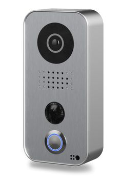 The smartphone and tablet WiFi video door station for iOS and Android