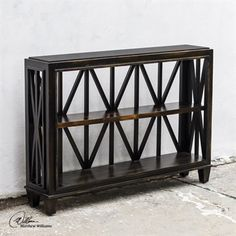 Uttermost Asadel 47 Rectangular Wood Console Table