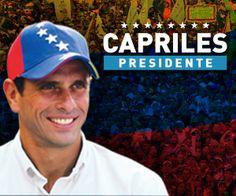 Capriles Presidente.. Venezuela somos todos... Queremos el cambio, sabemos que nos daras un mejor futuro