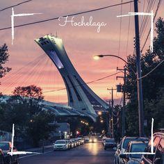 Le quartier Hochelaga vu par Élodie Ontario, Grand Parc, Parcs, Belle Photo, Marina Bay Sands, Building, Travel, Water Games, The Neighborhood