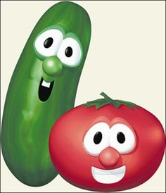 I was utterly in love with Larry the Cucumber