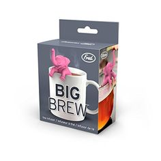 2.4 inches 5186699 Fred BIG BREW Elephant Silicone Tea Infuser
