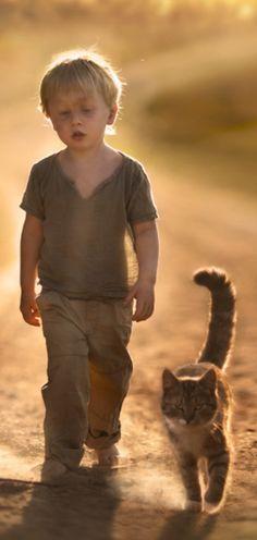 Lets take a walk with friend