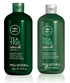 Shampoo and conditioner that make you feel like you're at the spa.
