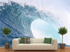 Wave Wall Mural