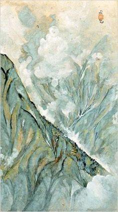 Darjeeling and Fog - Nandalal Bose