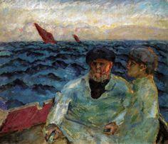 Pierre Bonnard - Fishermen in the Boat, 1907 at Sammlung Rosengart Art Museum Lucerne Switzerland (by mbell1975)