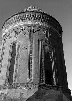Seljuk tomb, Ahlat, Van Gölü, Turkey