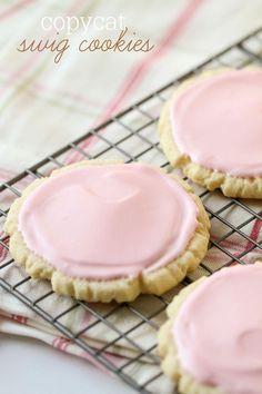 Copycat Swig Cookies recipe - one of the best sugar cookies ever! { lilluna.com }