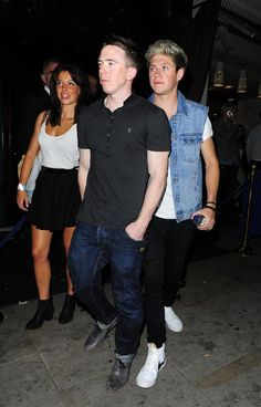Niall at cafe de paris in london