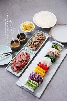 K Food, Food Menu, Food Porn, Food Design, Easy Cooking, Cooking Recipes, Food Decoration, Korean Food, Food Presentation
