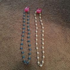 Two never used necklaces Never worn cute. With tags Jewelry Necklaces