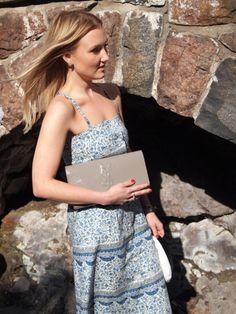 Samuji Dress // YSL Clutch Ysl, My Style, Outfits, Dresses, Fashion, Vestidos, Moda, Suits, Fashion Styles
