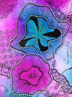 Time to Create, Alice Hendon, CZT, Certified Zentangle Teacher, zentangle, The Creator's Leaf, www.thecreatorsleaf.blogspot.com, Dylusions I...