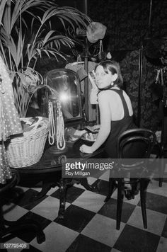 customer at the Biba boutique in Abingdon Road Kensington London 4th March 1965