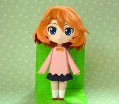 PAPERMAU: Cardfight!! Vanguard - Emi Sendou Paper Doll In Chibi Styleby Kataho