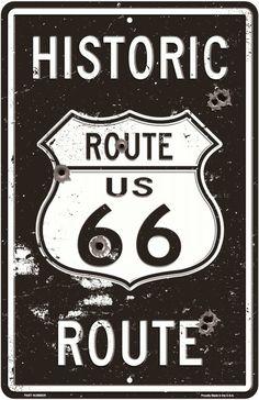 route 66  20x30 cm