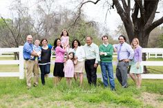 Patty and Carys Large Family Outdoor Portraits at the Arlington studio by Lynn in Love Photo, Dallas and Houston Family Photographer