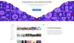 YouTube presenta el rediseño de su interfaz web para ordenadores