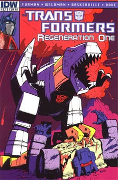 Transformers Regeneration One #82 Incentive Geoff Senior Variant Cover
