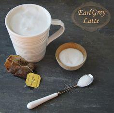 MADE THIS - Earl Grey Tea Latte (you could use any tea, I like apple cinnamon and I've made a mint chocolate tea latte)