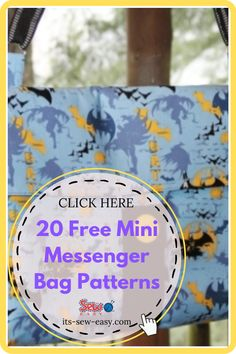 Messenger bags are unisex and appealing to all ages. Whether you like them large or small, plain or bold-colored, in single or multiple pockets, their diversity is what makes them unique. Here are a few patterns you can try out for your new messenger bag. #bagpatterns #messengerbagpattern #sewingpatterns #freepatterns Messenger Bag Patterns, Mini Messenger Bag, Bag Patterns To Sew, Sewing Patterns, Creative Outlet, Kids Bags, Diversity, Bold Colors, Gifts For Friends