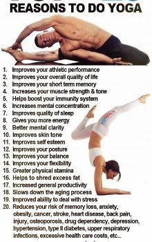 #7!! Yoga before bed has really helped me sleep better during the night!