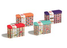 Confectionary manufacturers - Nougat tin box 250g.