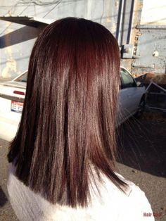 hermoso y cálido marrón para el invierno - cabello - #hermoso #marrón #hacer # cálido #Wint ....