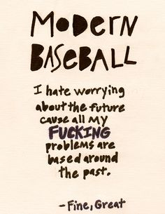 Modern Baseball - Fine, Great