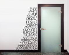 Stickers e Adesivi Murali e da parete d'arredo