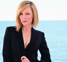 Love the hair, a stylish and classic long bob. Cate Blanchett