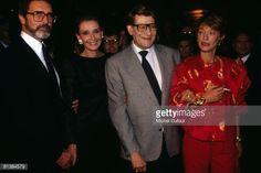 Photo d'actualité : Audrey Hepburn and her husband, Yves Saint...