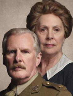 Dr Clarkson & Isobel Crawley | More Downton Abbey photos here:  http://mylusciouslife.com/historical-style-downton-abbey-photos/