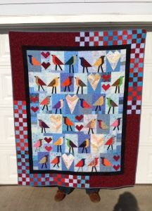 2 quilts inspired by the lotto…