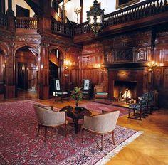 The Grand Hall In Tudor Style Mansion Richmond Virginia
