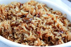 Just 4 simple, pantry staple ingredients make up this rice side dish that will blow your mind! Kids and adults alike will be begging you to make it again!