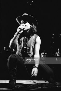 Bono of performs on the Joshua Tree Tour at Nassau Coliseum on October 1987 in Uniondale NY. (Photo By Larry Marano). U2 Band, Nassau Coliseum, Paul Hewson, Bono U2, Larry Mullen Jr, Father John, Irish Boys, Funny Pictures, Funny Pics
