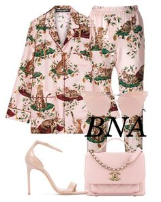 """""""BNA"""" by deborahsauveur ❤ liked on Polyvore featuring Dolce&Gabbana, Yves Saint Laurent and So.Ya"""
