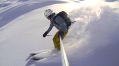 GoPro Days of Powder Trailer Gopro, Teaser, Skiing, Fighter Jets, Aircraft, Facebook, Videos, Photography, Ski