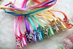 Fairy Party Favors Tiny Rainbow Tink Fairy Glitter Party