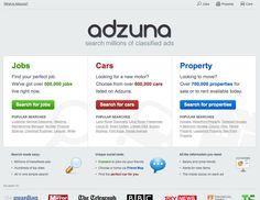 http://www.adzuna.co.uk/  Classified ads portal in UK for Europe & UK.