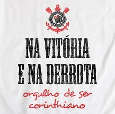 Sport Club Corinthians Paulista Corinthians Time, Sport Club Corinthians, Sports Clubs, Mens Tops, Victor Hugo, Hs Sports, Soccer, Pride, Etchings