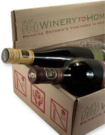 """Ontario """"Winery to Home"""" available at most of our area wineries. Niagara Region, Wine Delivery, Wine Storage, Wine Country, Wine Tasting, Wine Rack, Ontario, Wines, Bottle"""